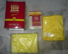 125 Years Shell Malaysia Red Color Retro Car Care Kit Extra large Canister Tin