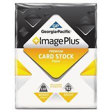 250-Sheets GP Image Plus CardStock Paper 110lb 8.5x11 Printer Paper White Inkjet