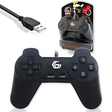 PC GAMPAD USB GAMING CONTROLLER | Gembird JPD-UB-01 | Compatible Windows 10 8 7