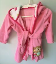Carter's Toddler Beach Cover-up Jacket Pink Girl Hooded - Sz 0-9 Mo