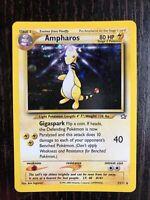 Ampharos 1/111 Neo Genesis Holo Rare Pokémon Card