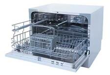 Sunpentown Countertop Dishwasher with Delay Start & LED - White SD-2225DW