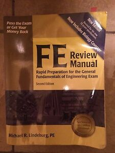 FE Review Manual 2nd edition by Michael R. Lindeburg