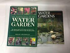 2x Water Gardening Books The Master Book of Water Gardening Ledbetter