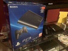 Sony Playstation 3 Super Slim Launch Edition 250GB  Black Console