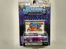 Muscle Machines 1940 Willy's Pickup Purple 01-45 1 64 Scale
