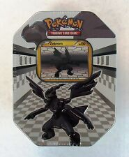 Zekrom Black & White Pokemon Collectible Tin Brand New Factory Sealed