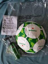 NEW Heineken Beer Soccer Ball FIFA & UEFA Champions League Pump World Cup RARE