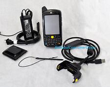MC55 MC5574-PKCDUQRA9WR Motorola 1D/2D WM6 GSM Barcode Scanner +Charger/USB KIT