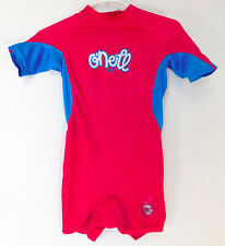 O'NEILL Pink WETSUIT Short Sleeve Shorts 4308G YOUTH GIRLS SIZE: 2