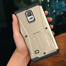 Samsung Galaxy S6 / Note 4 Hard Military Active Armor Water Resistant Case-Gold