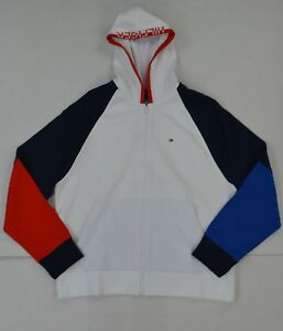 NWT Men's Tommy Hilfiger Sweater Hoodie Hooded Sweatshirt
