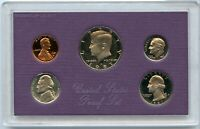 1987 United States Proof Set 5 Coin Collection US Mint