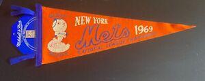 New York Mets 1969 NL Champions Mitchell & Ness Baseball Pennant