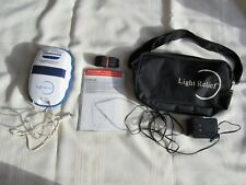 Light Relief Infrared Joint Muscle Pain Relief Therapy Model LR150 Complete Kit