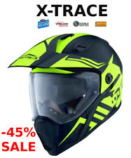 Caberg Xtrace Lux Motorcycle Enduro Helmet off Road Thermoplastic Matte Black 2xl