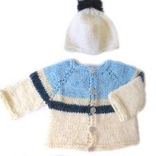 New Kss Handmade Kids Lightblue Acrylic Toddler Sweater (2 Yrs) Sw-192 Sale