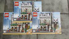 Lego Creator 10243 Parisian Restaurant INSTRUCTIONS ONLY 2014