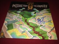 JEFF LYNNE SIGNED VINYL LP ALBUM THE MOVE MESSAGE FROM THE COUNTRY ELO PROOF