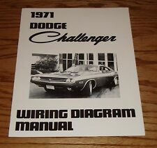 1971 Dodge Challenger Wiring Diagram Manual 71