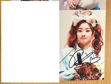 Twice Dahyun 4x6 Photo Korean autograph signed USA Seller KPOP B10
