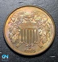 1865 2 Cent Piece  --  MAKE US AN OFFER!  #B3621
