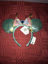 Disney Parks Exclusive Minnie mickey Ears headband ALADDIN CARPET Jasmine sequin