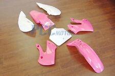 PINK PLASTIC KAWASAKI KLX110 DRZ110 KLX/DRZ110 110 9 PS24