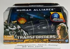 Transformers Human Alliance Shadow Blade Sideswipe and Mikaela Banes Sealed MISB