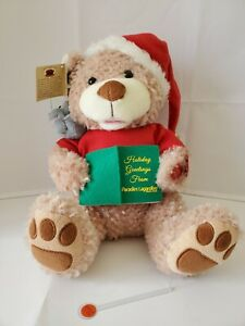 Chantilly Lane Duets Musicals There's no place like home for the holiday Bear