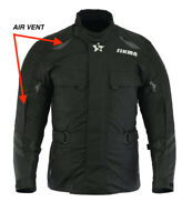 Mens Motorbike Waterproof  CE Approved Armours Cordura Textile touring jackets
