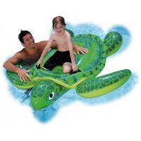 Intex XXL Reittier  große Schildkröte aufblasbares Schwimmtier 1,50x 1,27 m