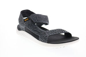 Teva Terra Float 2 Knit Evolve 1099432-DKSW Mens Gray Canvas Sport Sandals