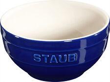 STAUB céramique 6 de Set Bol desertschale, petit bleu foncé 12 cm CERA