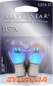Sylvania Silverstar 1157AST BP Amber Brake Light - Pair Bulk Packaged