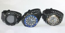 Casio Watches lot of 3 tough solar/world timer/