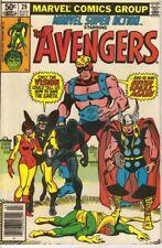 MARVEL SUPER ACTION THE AVENGERS #29 (VG) 1981