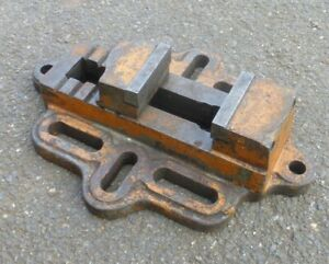 """Engineers Machine Vice Precision Drill Vice 3"""" Wide Jaws"""