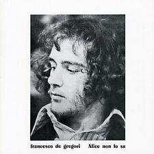 De Gregori, Francesco : Alice Non Lo Sa CD