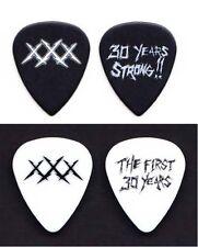 Metallica 30th Anniversary Fillmore XXX 2 Guitar Pick Set - 2011 Tour