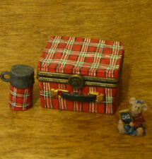 Boyds Treasure Box #392128 Kendall'S Lunchbox, 2nd Ed Mib New from Retail Store