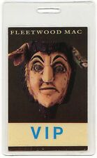 Fleetwood Mac 1990 Behind Mask Tour Laminate Backstage Pass concert stage Otto 2
