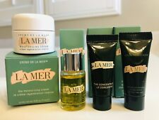 LA MER 4pc Brand New Deluxe Travel Set Eye +Cream + Oil +Concentrate. $165 Value