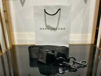 Marc Jacobs The LOGO Webbing Strap for Snapshot DTM - Black 100% Authentic NEW