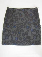 Above Knee Polyester Paisley A-Line Skirts for Women