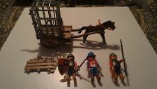 Playmobil 100% Complete Set 3674 Medieval Knight Prisoner Transport