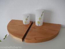 2x Wandboard Kirschbaum Massiv Holz Board Regal Steckboard Regalbrett Brett !!!