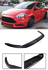 For 12-14 Ford Focus ST MK3 Add On Splitter Front Lower Bumper Lip Fiberglass