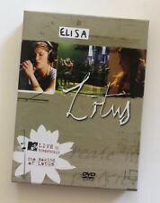 """ELISA """"LOTUS"""" RARO COFANETTO 2 DVD + INSERTO (FUORI CATALOGO)"""