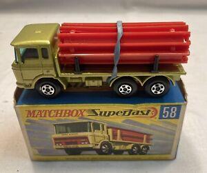 Matchbox Superfast Daf Girder Truck 58